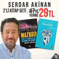 Serdar Akinan 2'li Kitap Seti