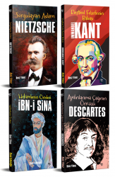 Dünyayı Değiştiren İnsanlar 4 Kitap Nietzche-Kant-Descartes-İbni Sina