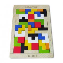 Ahşap Tetris Zeka Oyunu
