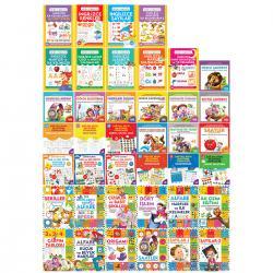 Çocuklar İçin Aktivite Dünyası Seti - 40 Kitap