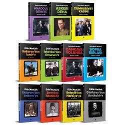 Anılarla Dahi Atatürk Seti - 11 Kitap