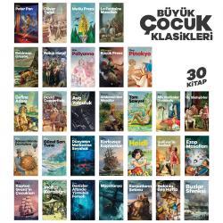 Büyük Çocuk Klasikleri Seti - 30 Kitap
