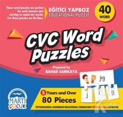 Cvc Word Puzzles - Eğitici Yapboz