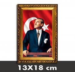 Atatürk Portreli Askılıklı Çerçeve 4