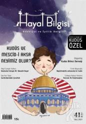 Hayal Bilgisi Dergisi Sayı: 41 Yaz 2021