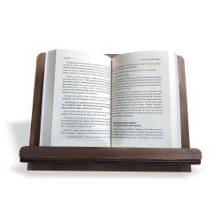 "Ahşap Kitap Okuma ve Tablet Standı ""Katlanabilir"""