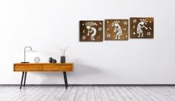 KOKOPELLİ TABLO SET - SERİ 2