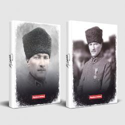 Tarihsiz Atatürk Defter Komutan ve Madalya