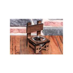 Lora Sandalye T-Lıght Cam Mumluk