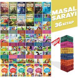 Masal Sarayı - 36 Kitap ve Renkli Denge Oyunu Seti