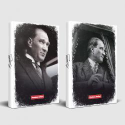 Tarihsiz Atatürk Defter Portre ve Mustafa Kemal