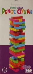Renkli-Ahşap Denge Oyunu