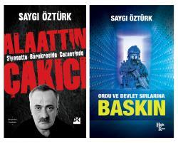 Siyasette - Bürokraside - Cezaevinde Alaattin Çakıcı - Baskın Kitabı Hediyeli
