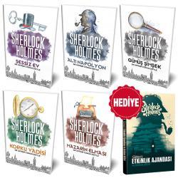 Sherlock Holmes 5 Kitap - Süresiz Ajanda ve Planlama Defteri Hediyeli