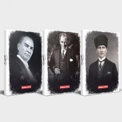 Tarihsiz Atatürk Defter 3'lü Set v2