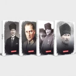 Ulu Önder Atatürk 4'lü Planlama Defteri Seti