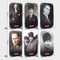 Tarihsiz Atatürk Defter 6'lı Set v1