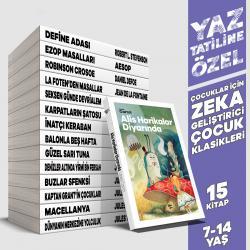 Yaz'a Özel Zeka Geliştirici Çocuk Klasikleri - 15 Kitap