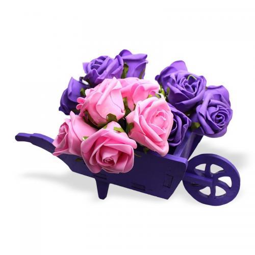 El Arabası Çiçeklik , Mor