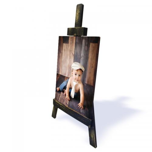 Ahşap Şövalyeli Resim ,Küçük Boy Model 2