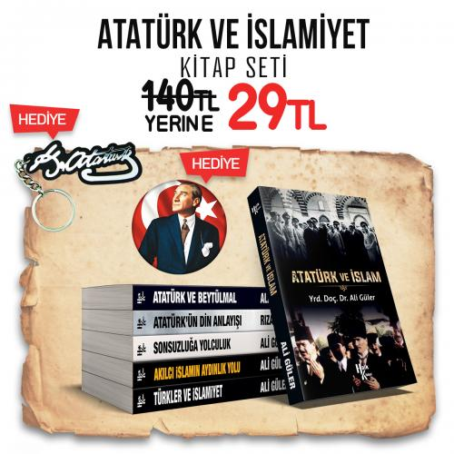 Atatürk ve İslamiyet Seti - 6 Kitap - Ali Güler -Halkkitabevi