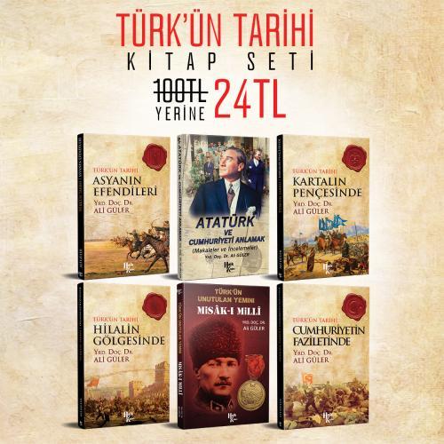 Türk'ün Tarihi Kitap Seti - Ali Güler -Halkkitabevi