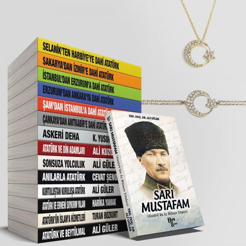 Evinizin İş Yerinizin Atatürk Kütüphanesi Seti - 15 Kitap - -Halkkitab