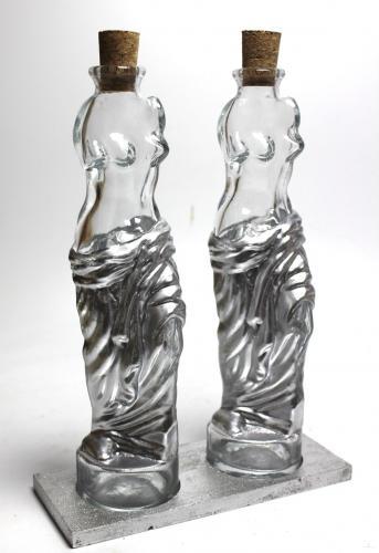 Küçük Venüs Yağlık Sirkelik Seti Gümüş