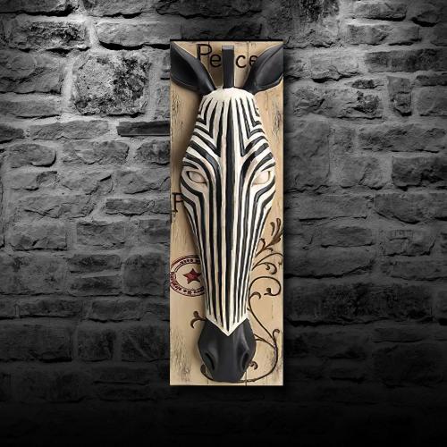 Wild Life Tablo, Zebra - -Halkkitabevi