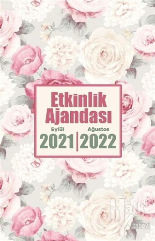 2021 Eylül-2022 Ağustos Etkinlik Planlama Defteri - Beyaz Buket