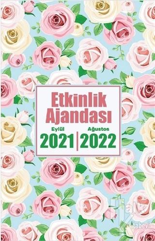 2021 Eylül-2022 Ağustos Etkinlik Planlama Defteri - Beyaz Gül