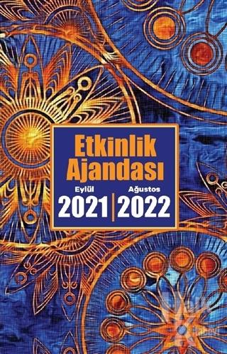 2021 Eylül-2022 Ağustos Etkinlik Planlama Defteri - Zaman Çarkı