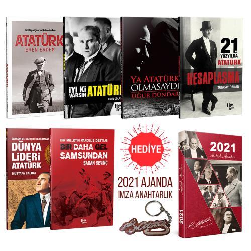 29 Ekim'e Özel Atatürk Arşivi (2021 Atatürk Ajandası ve İmza Anahtarlık Hediyeli)