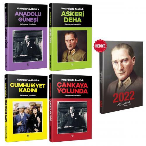 Cumhuriyet Seti 4 Kitap 1 Ajanda - Kahraman Yusufoğlu -Halkkitabevi