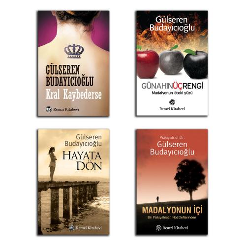 Gülseren Budayıcıoğlu 4'lü Kitap Seti
