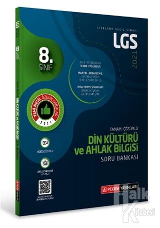 8.Sınıf LGS Din Kültürü ve Ahlak Bilgisi Tamamı Çözümlü Soru Bankası 2021