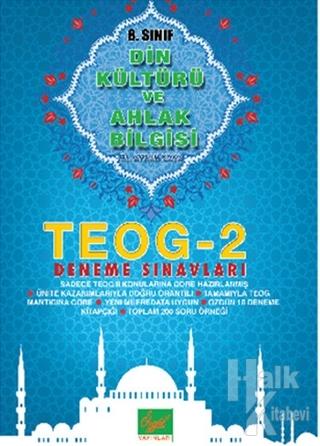 8. Sınıf TEOG 2 Din Kültürü ve Ahlak Bilgisi Deneme Sınavları