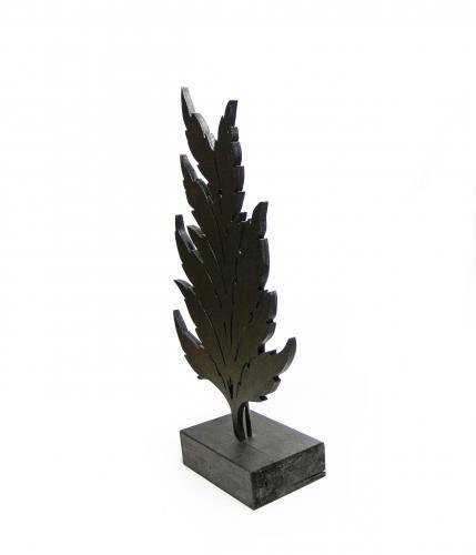 Mistik Dekoratif Yaprak - Siyah HK206 %36 indirimli