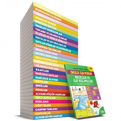 Eğitici ve Öğretici Aktivite Gezegeni - 30 Kitap