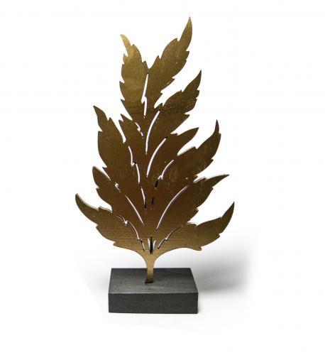 Mistik Dekoratif Yaprak - Altın HK203
