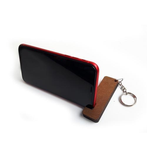 Anahtarlık Ahşap Telefon Standı Model 2