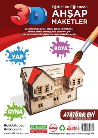 Atatürk Evi Ahşap Maket
