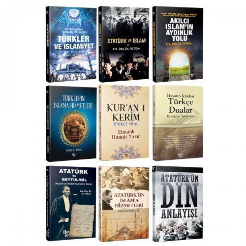 Atatürk ve Din Seti - 9 Kitap