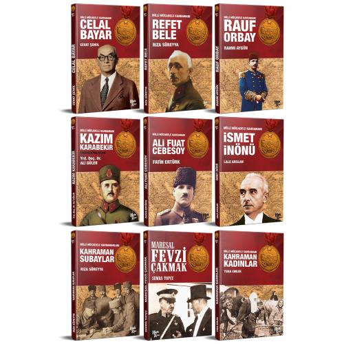 Atatürk ve Milli Mücadele Kütüphanesi Seti - 9 Kitap
