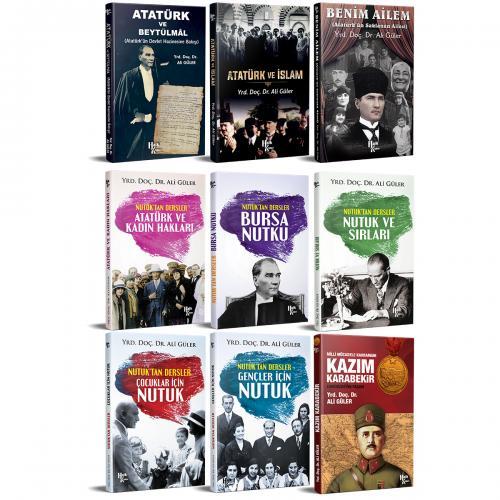 Atatürk Kütüphanesi Seti - 9 Kitap