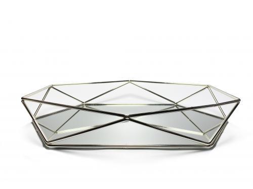 Diamond Aynalı Prizma Tepsi HK-60 - -Halkkitabevi