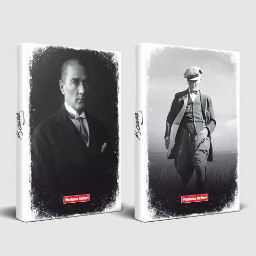 Tarihsiz Atatürk Defter Başöğretmen ve Cumhuriyet - -Halkkitabevi