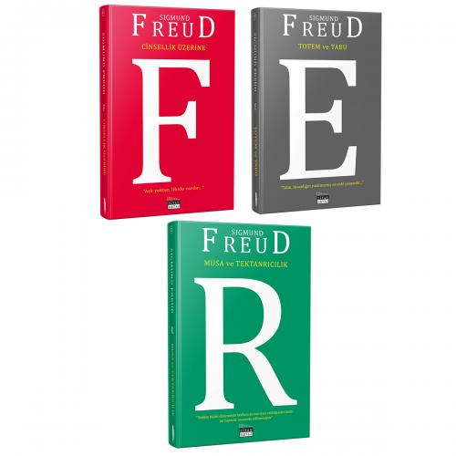 Sigmund Freud 3'lü Kitap Seti