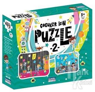 Çocuklar İçin Puzzle 2 (5+ Yaş)