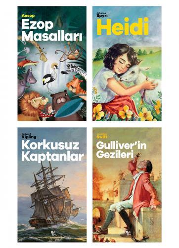 Çok Okunan Çocuk Klasikleri Seti - 4 Kitap